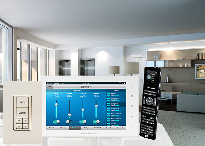 Total control at the touch of a finger porsche design for Total home control